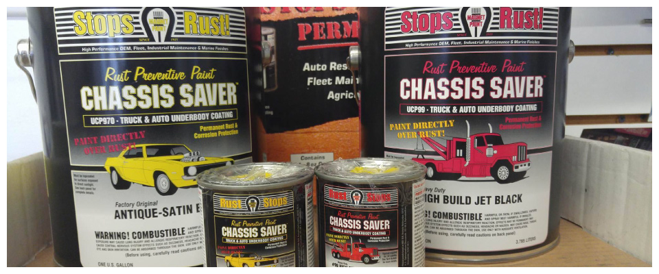 Chassis Saver coatings